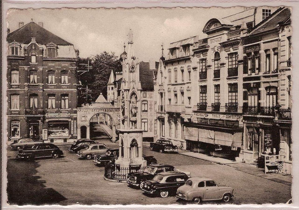 place de chimay ancienne photo
